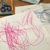 ハサミとお絵かきの練習