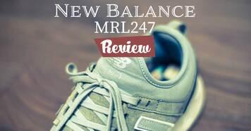 発売以来大人気!New Balance MRL247をレビューします。