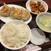 夜ごはん: 餃子と麻婆豆腐 @鶴見 蓬莱春飯店