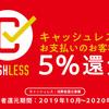 【キャッシュレス・ポイント還元事業】実際にポイント還元キャンペーンで何円稼げる?より儲ける方法とは?