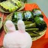 フィリピンで新潟の笹団子?ローカルの伝統的なお菓子はカラフルで重い💦