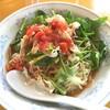 冷やしトマト麺 @ 揚州商人 第二産業南中野店