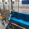 「サイクルトレイン実証実験」西武多摩川線に載せる。