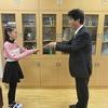 チアダンスの表彰