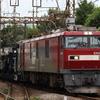 貨物列車撮影 9/3 2日連続のシキ800とJRFマークが消えたEF64