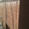 外壁の上塗作業