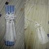 懐剣飾り紐の折あとの直し方