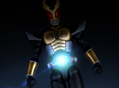 目覚めろ、その魂−Figure-rise Standard 仮面ライダーアギト グランドフォーム レビュー!