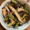 炭焼きした素焼き野菜