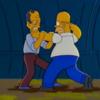 シーズン7、第13話「ブッシュ VSシンプソンズ:Two Bad Neighbors」