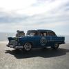 '55 CHEVYの試運転。