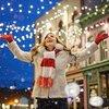 街はクリスマスモード