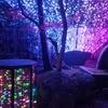 由志園のライトアップとイルミネーション④:島根県松江市