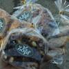 北小金の「バックシュトゥーベ・ツオップ」で焼き菓子、クロワッサンオザマンド、スモークチーズと胡桃のベーグル、アップルパイ、タンドリーチキン、スチームケーキ。