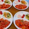 鶏肉のトマト煮込み プレート