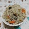 単身赴任 自炊 そば米汁なしを作りました。(^^♪