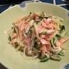 タラスパ風のサラダが美味しいので作ってみてほしい