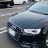 Audi A3 当て逃げされる。