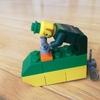 レゴで競艇のボートを作ってみた。スコーピオンターンもあるよ。