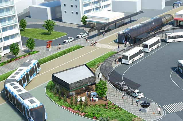 SoftBank Corp. and JR-West Leverage Automated Driving and Platooning Technologies in Bus Rapid Transit (BRT) Trials