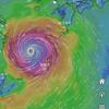 9月1日台風通過中~