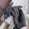 黒い手袋 安心感は貰って Black glove