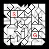 四角渡り迷路:問題14
