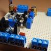 A級バランスHPアンプ製作(製作編7)