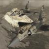 【Metal2Mesh】ミラージュ ACE COMBAT ZERO ベルカ空軍塗装二機セット