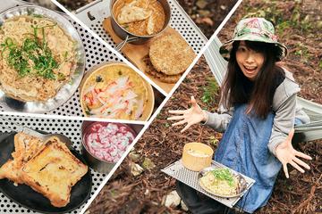 【面倒な準備ナシ】コンビニ飯が大変身!サクッと超お手軽グルメキャンプ
