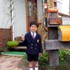 次男小学校入学