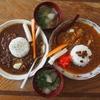 【ランチ】デトックスカレーライス&ビーフシチューライス+冬瓜スープセット