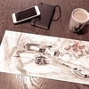 11月の近江八幡を描く 1話 屋形舟 水彩de風景スケッチ 2019