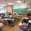 1・2年生:朝の学習、朝の会