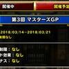 level.912【マスターズGP】帝王杯・第2回マスターズGPお疲れ様でした。