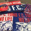 きょうからFC東京×TOWER RECORDSコラボグッズがタワレコ店舗で販売開始。Tシャツやタオマフ、チケットホルダーなど。