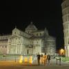 2013年ヨーロッパ縦断アムステルダム→ローマの旅その13:深夜にピサの斜塔を徘徊してみる