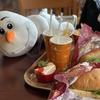 オラフと一緒にクリスマスのディズニーランド、シーをブラブラ!