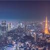 東京の夜景を撮るなら六本木ヒルズの展望台がいい感じ。
