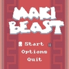 Maki Beast 岩や敵の死体を投げて戦うトップダウンシューティング