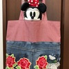 薔薇模様のトートバッグ