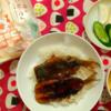 #レシピ本できたらイイなぁ😄「ちびねこ亭の思い出ごはん 三毛猫と昨日のカレー」(sawakami.iruru さん) #再現料理 #写真二枚
