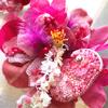 次回作のお花を製作中