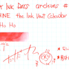 #0915 DIAMINE the Ink Vent Calender Ho Ho Ho