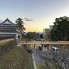 【金沢城めぐり】玉泉院丸鼠多門続櫓台石垣からみた鼠多門