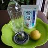 熱中症対策「塩レモン水」で水分補給