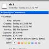 ZFS on Mac OS X 10.5