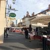 パリ郊外、ピュトーの生鮮食品マルシェ