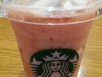 スタバ「ピーチピンクフルーツフラペチーノ」が美味しい。飲む度に「変わる」美味しさを楽しもう!