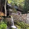 「日本の水100選」に選ばれた大滝湧水と大滝神社@小淵沢